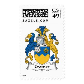 Escudo de la familia de Cramer Franqueo