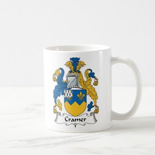 Escudo de la familia de Cramer Taza