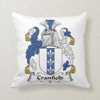 Escudo de la familia de Cranfield Almohadas