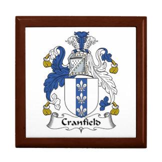 Escudo de la familia de Cranfield Cajas De Joyas