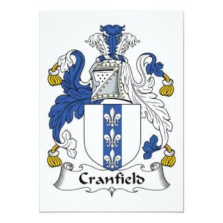 Escudo de la familia de Cranfield Comunicado