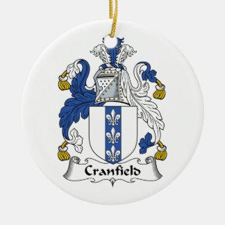 Escudo de la familia de Cranfield Ornamente De Reyes