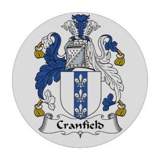 Escudo de la familia de Cranfield Juego De Fichas De Póquer