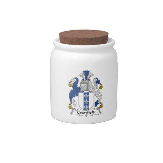 Escudo de la familia de Cranfield Jarras Para Caramelos