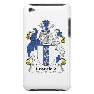 Escudo de la familia de Cranfield iPod Touch Protectores