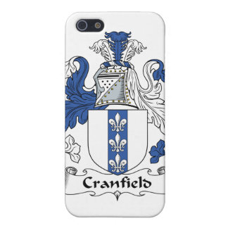 Escudo de la familia de Cranfield iPhone 5 Protector