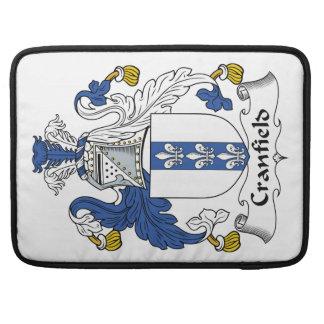 Escudo de la familia de Cranfield Funda Macbook Pro