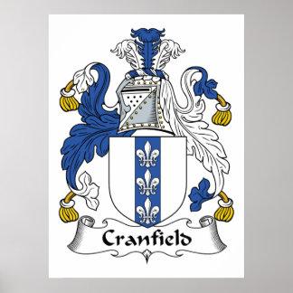 Escudo de la familia de Cranfield Impresiones