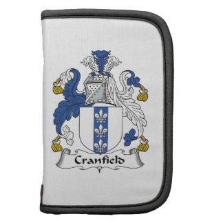 Escudo de la familia de Cranfield Organizador