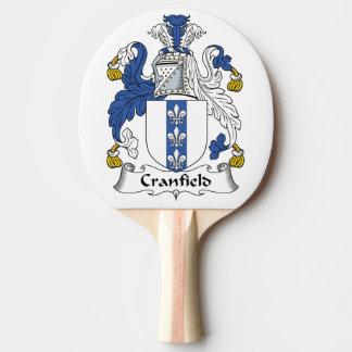 Escudo de la familia de Cranfield Pala De Ping Pong