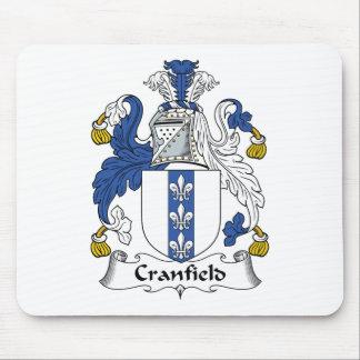 Escudo de la familia de Cranfield Alfombrillas De Ratón