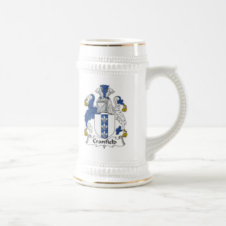 Escudo de la familia de Cranfield Tazas De Café