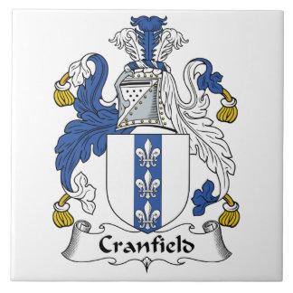 Escudo de la familia de Cranfield Teja