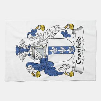 Escudo de la familia de Cranfield Toalla