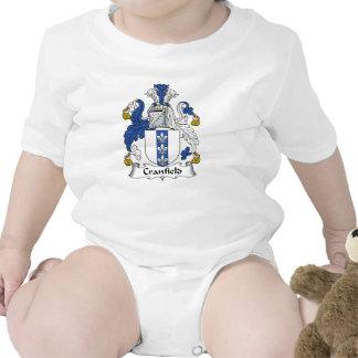 Escudo de la familia de Cranfield Traje De Bebé
