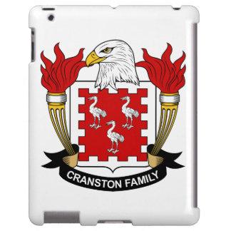 Escudo de la familia de Cranston Funda Para iPad