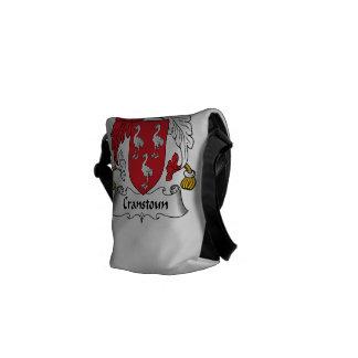 Escudo de la familia de Cranstoun Bolsa Messenger