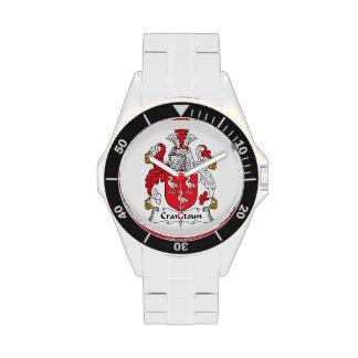 Escudo de la familia de Cranstoun Relojes De Pulsera