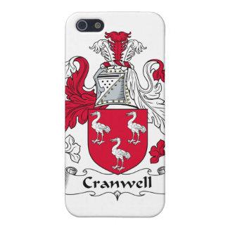 Escudo de la familia de Cranwell iPhone 5 Carcasas