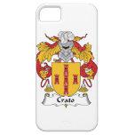 Escudo de la familia de Crato iPhone 5 Cárcasas