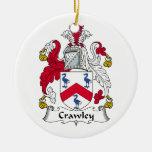 Escudo de la familia de Crawley Ornamente De Reyes