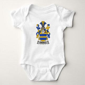 Escudo de la familia de Crehall Body Para Bebé