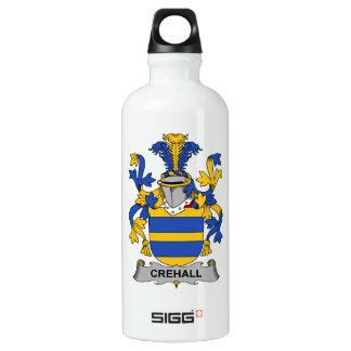 Escudo de la familia de Crehall Botella De Agua