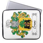 Escudo de la familia de Crema Fundas Portátiles