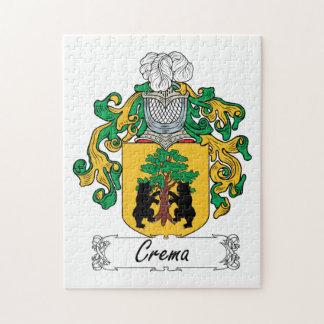 Escudo de la familia de Crema Rompecabeza