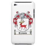 Escudo de la familia de Cremin iPod Touch Case-Mate Protector