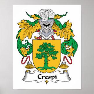 Escudo de la familia de Crespi Impresiones
