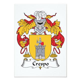 Escudo de la familia de Crespo Comunicado Personal