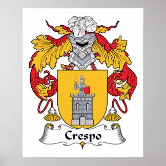 Escudo de la familia de Crespo Impresiones