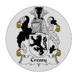 Escudo de la familia de Cressy Juego De Fichas De Póquer