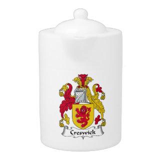 Escudo de la familia de Creswick