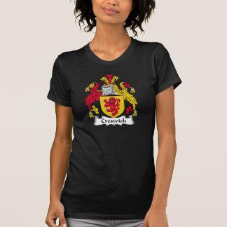 Escudo de la familia de Creswick Camisetas