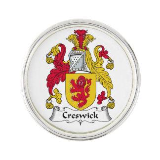 Escudo de la familia de Creswick Insignia