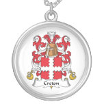 Escudo de la familia de Creton Grimpola