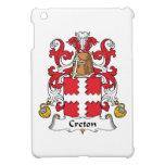 Escudo de la familia de Creton iPad Mini Cobertura