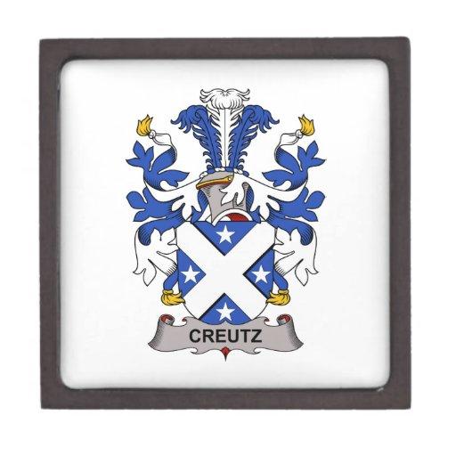 Escudo de la familia de Creutz Caja De Joyas De Calidad