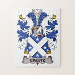 Escudo de la familia de Creutz Rompecabeza Con Fotos