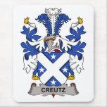 Escudo de la familia de Creutz Alfombrilla De Ratones