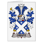 Escudo de la familia de Creutz Tarjeton