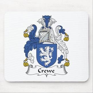 Escudo de la familia de Crewe Alfombrilla De Ratón