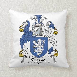 Escudo de la familia de Crewe Almohadas