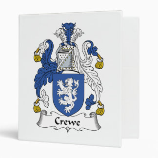 "Escudo de la familia de Crewe Carpeta 1"""
