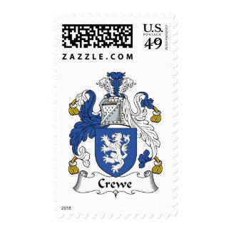 Escudo de la familia de Crewe Envio