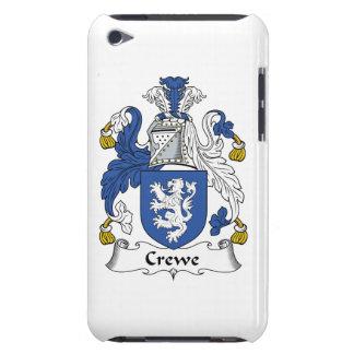 Escudo de la familia de Crewe iPod Touch Case-Mate Protectores