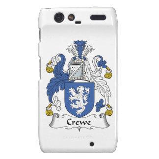 Escudo de la familia de Crewe Motorola Droid RAZR Carcasa