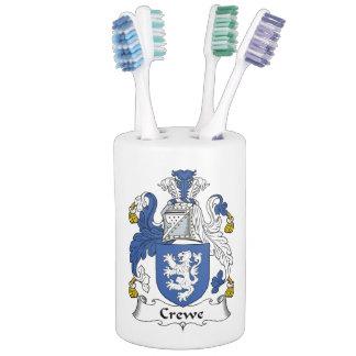 Escudo de la familia de Crewe Jaboneras